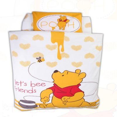 Bebi posteljina Winnie the pooh - bez ogradice