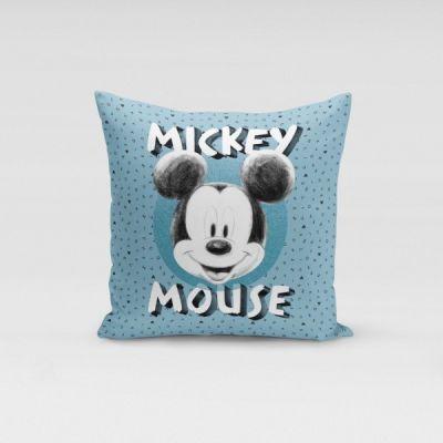 Ukrasni jastučić Mickey Mouse plavi