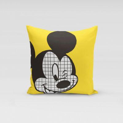 Ukrasni jastučić Mickey Mouse žuti