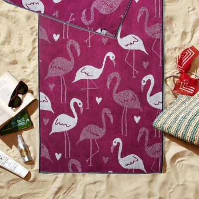 Plažni peškir Flamingo