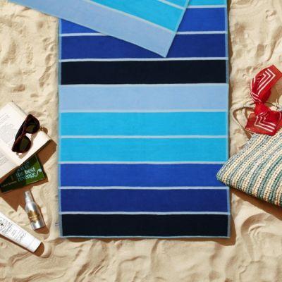 Plažni peškir - plavi