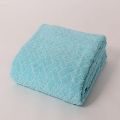 Pokrivač frotir - plavi