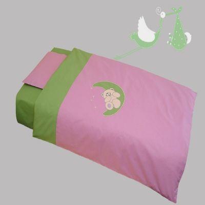 Bebi posteljina Na mesecu - bez ogradice