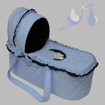 Korpa nosiljka Na mesecu - plavo/teget