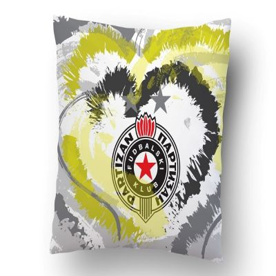 Ukrasni jastučić Partizan srce