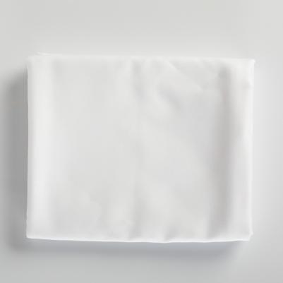 Krevetski čaršaf pamučni saten - beli