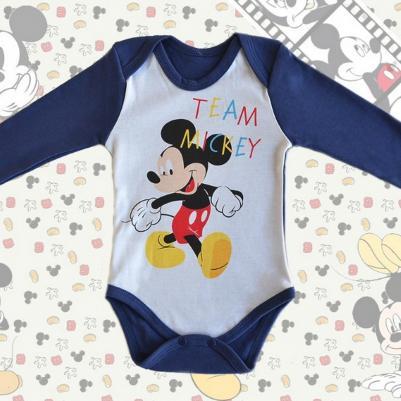 Bodi dug rukav Mickey Mouse