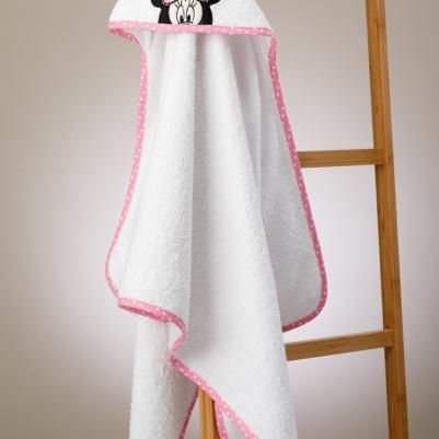 Bebi peškir sa kapuljačom Minnie Mouse
