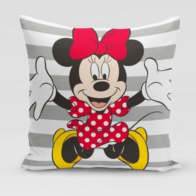 Ukrasni jastučić Minnie Mouse pruga