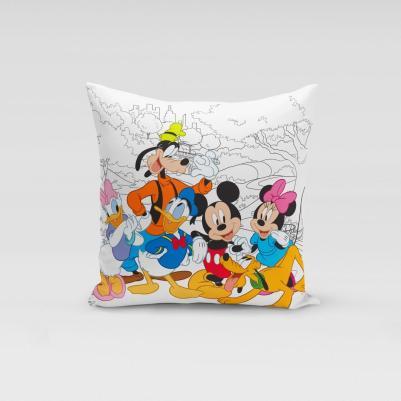 Ukrasni jastučić Mickey Mouse družina