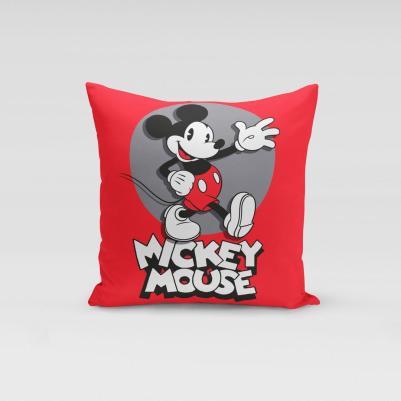 Ukrasni jastučić Mickey Mouse crveni