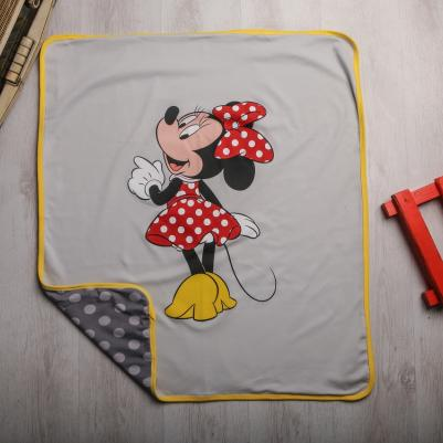 Pokrivač interlok Minnie Mouse