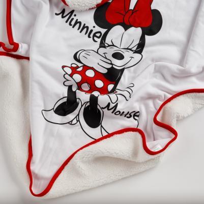 Pokrivač sa krznom Minnie Mouse