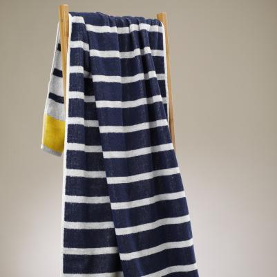 Plažni peškir - žuta pruga