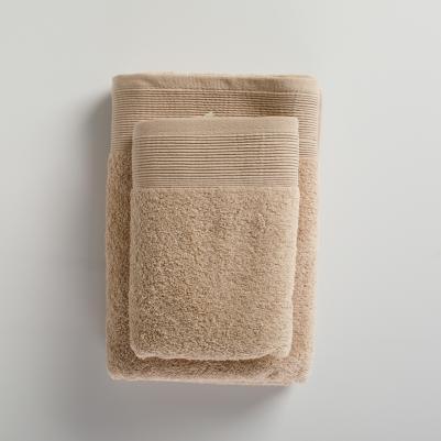 Peškir pamučni puniji - braon