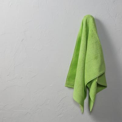 Peškir pamučni puniji - zeleni