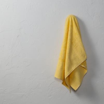 Peškir pamučni puniji - žuti