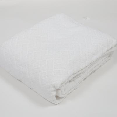 Pokrivač frotir - beli
