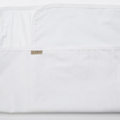 Nepromočivi čaršaf za krevetac - bela