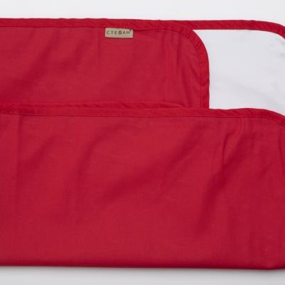 Nepromočivi čaršaf za krevetac - crveni