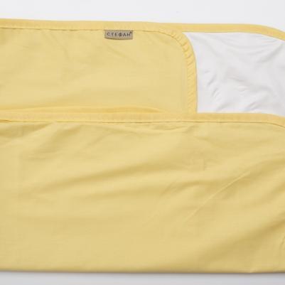 Nepromočivi čaršaf za krevetac - žuti