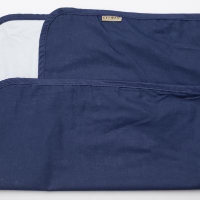 Nepromočivi čaršaf za krevetac - teget