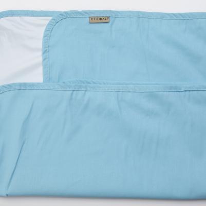 Nepromočivi čaršaf za krevetac - tirkiz