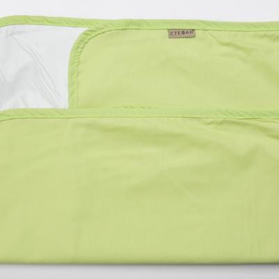 Nepromočivi čaršaf za krevetac - zelena