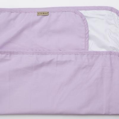 Nepromočivi čaršaf za krevetac - sv.lila