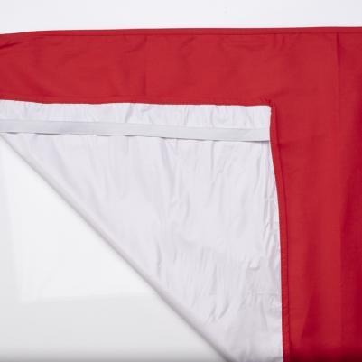 Nepromočivi čaršaf za krevetac - crvena