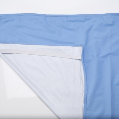 Nepromočivi čaršaf za krevetac - plava
