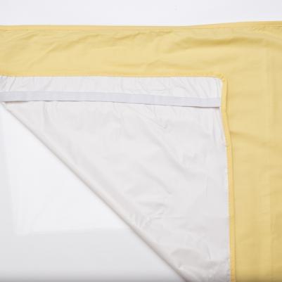 Nepromočivi čaršaf za krevetac - žuta