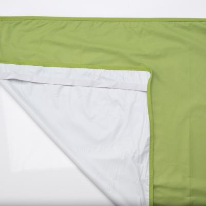 Nepromočivi čaršaf za krevetac - t.zelena