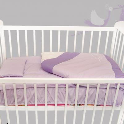 Bebi posteljina Nam mesecu - sa rajsferšlusom