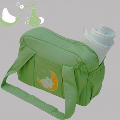 Torba sa PVC dodatkom Na mesecu - zelena