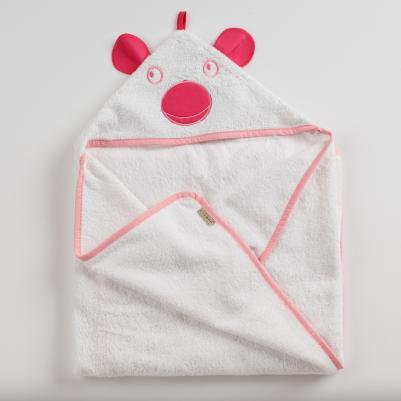 Bebi peškir sa kapuljačom Šarena bajka