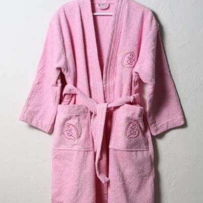 Bademantil ženski - roze