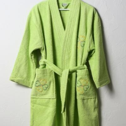 Bademantil ženski - zelena
