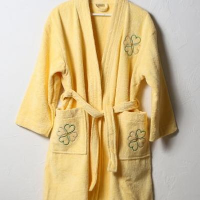 Bademantil ženski - žuta
