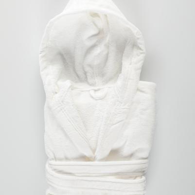 Bademantil ženski - beli
