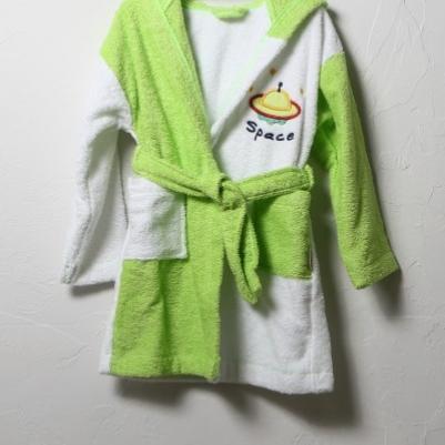 Bademantil dečiji - zelena