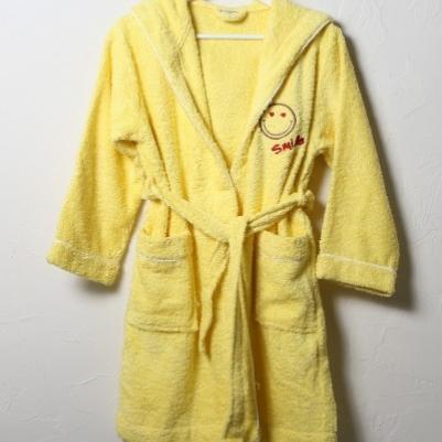 Bademantil dečiji - žuta