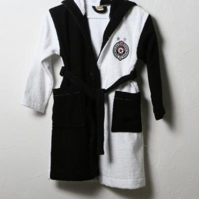 Bademantil za decu Partizan