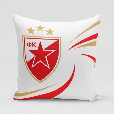 Ukrasni jastučić Crvena zvezda - elegant