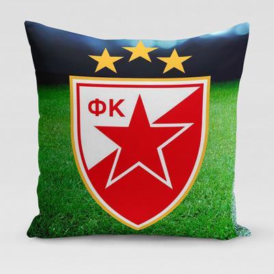 Ukrasni jastučić Crvena zvezda - trava