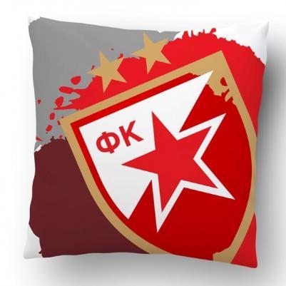 Ukrasni jastučić Crvena zvezda grb