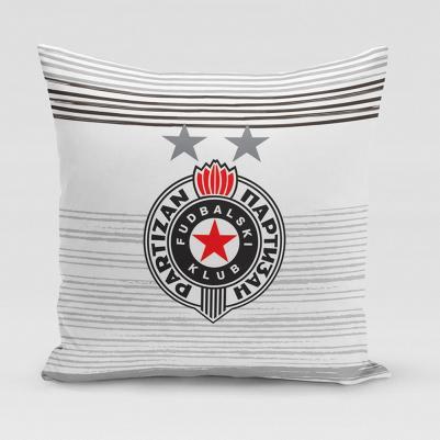 Ukrasni jastučić Partizan - pruga