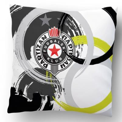 Ukrasni jastučić Partizan krug