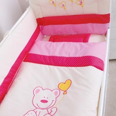 Bebi posteljina Meda - sa ogradicom